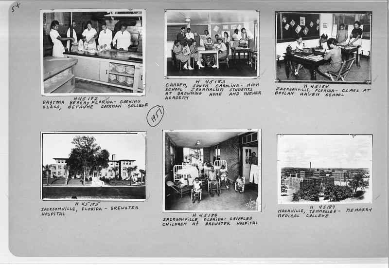 Mission Photograph Album - Negro #7 page 0054