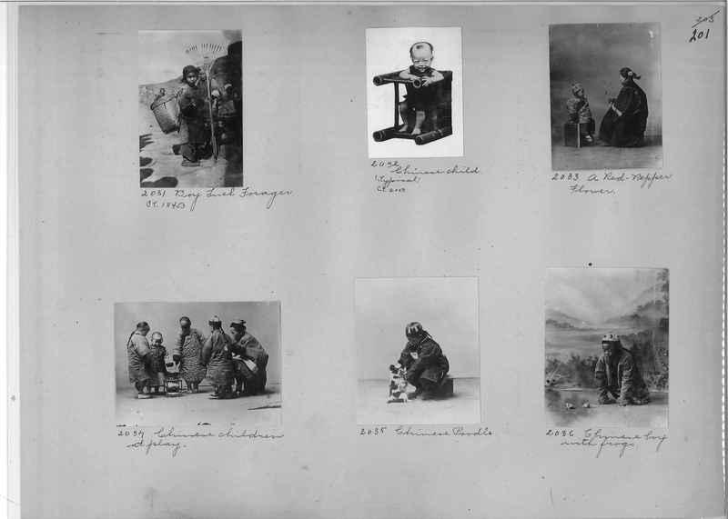 Mission Photograph Album - China #1 page  0201