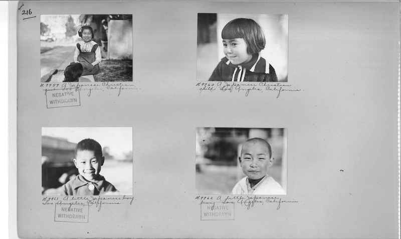 Mission Photograph Album - Cities #4 page 0216
