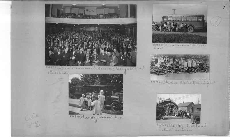 Mission Photograph Album - Cities #16 page 0001