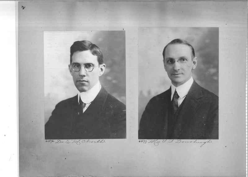 Mission Photograph Album - Portraits #3 page 0002