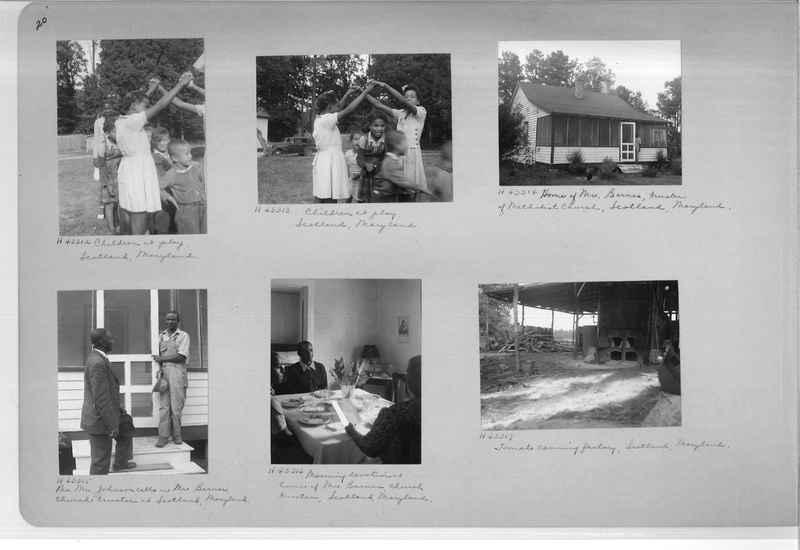 Mission Photograph Album - Negro #7 page 0020