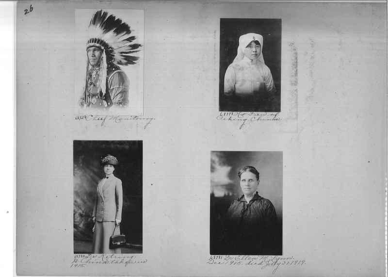 Mission Photograph Album - Portraits #3 page 0026