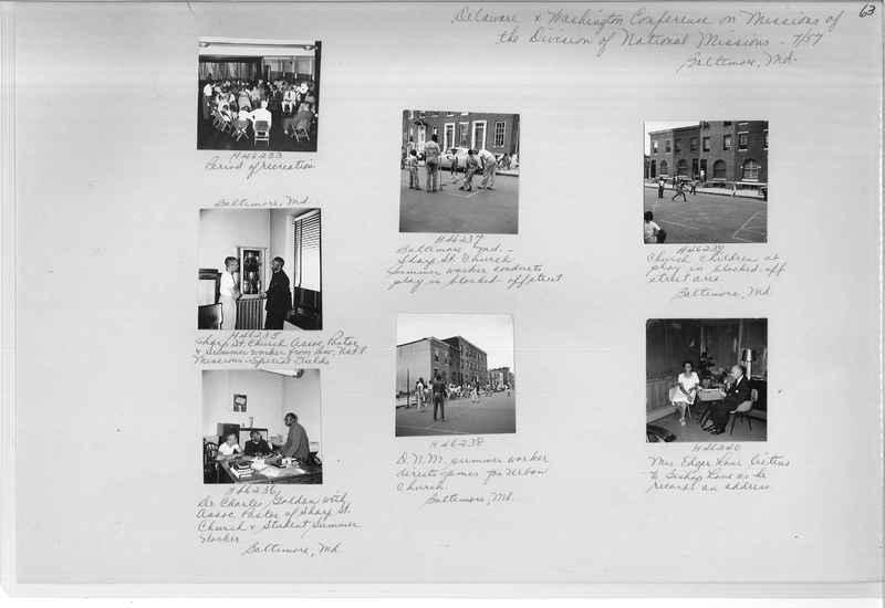Mission Photograph Album - Negro #7 page 0063