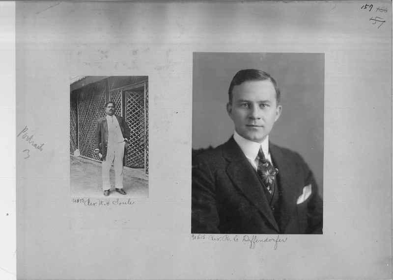 Mission Photograph Album - Portraits #3 page 0157