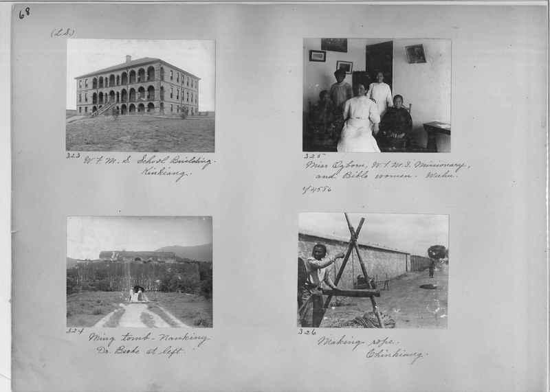 Mission Photograph Album - China #1 page  0068