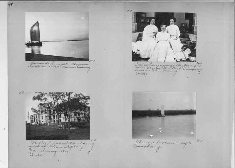 Mission Photograph Album - China #1 page  0074