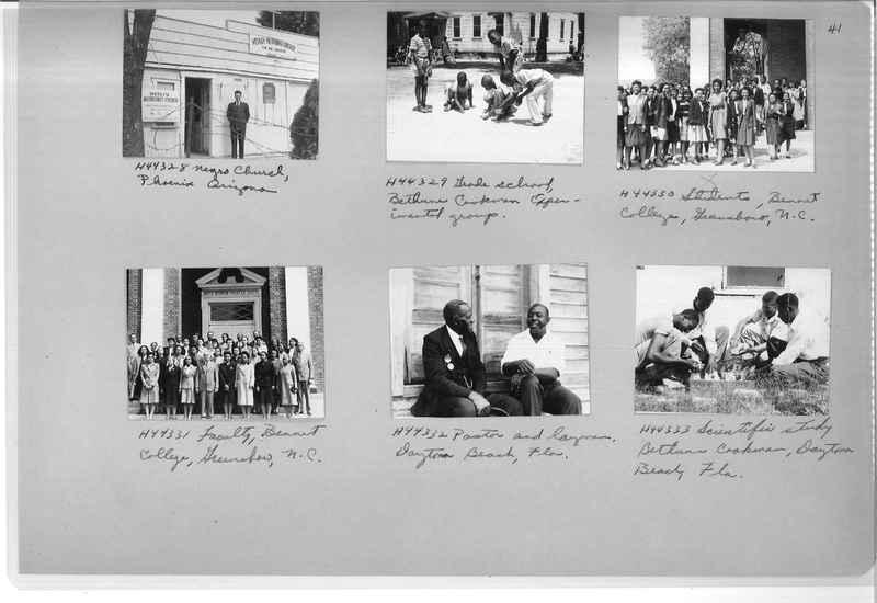 Mission Photograph Album - Negro #7 page 0041