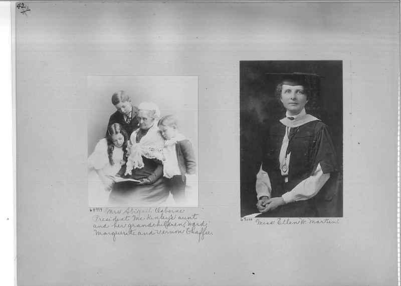 Mission Photograph Album - Portraits #3 page 0042