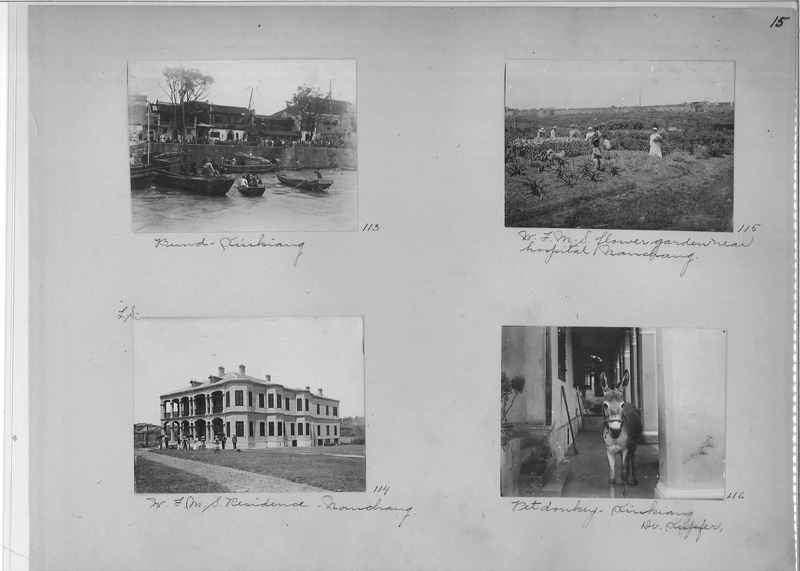 Mission Photograph Album - China #1 page  0015