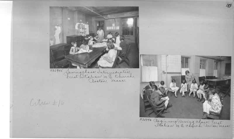 Mission Photograph Album - Cities #16 page 0183