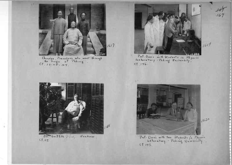 Mission Photograph Album - China #1 page  0167