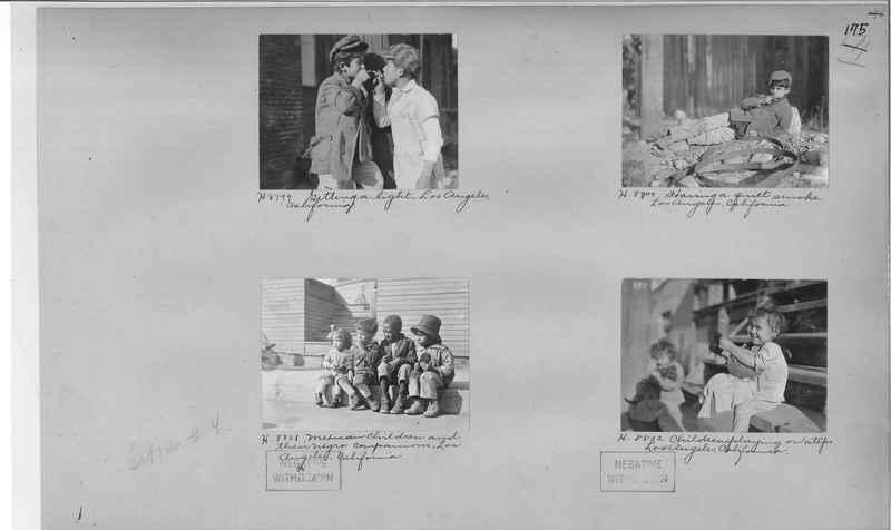 Mission Photograph Album - Cities #4 page 0175