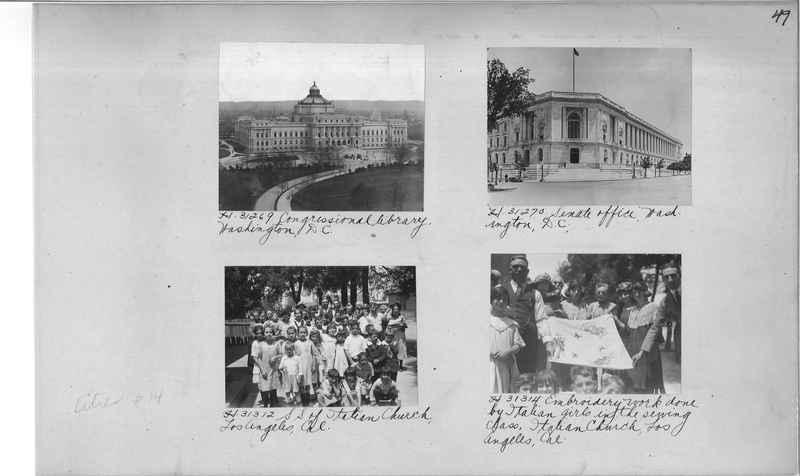 Mission Photograph Album - Cities #14 page 0049