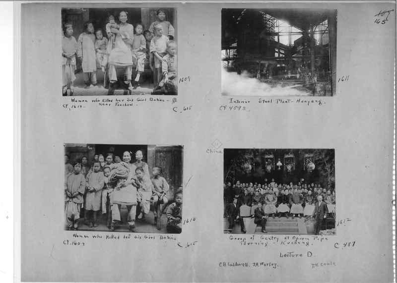 Mission Photograph Album - China #1 page  0165