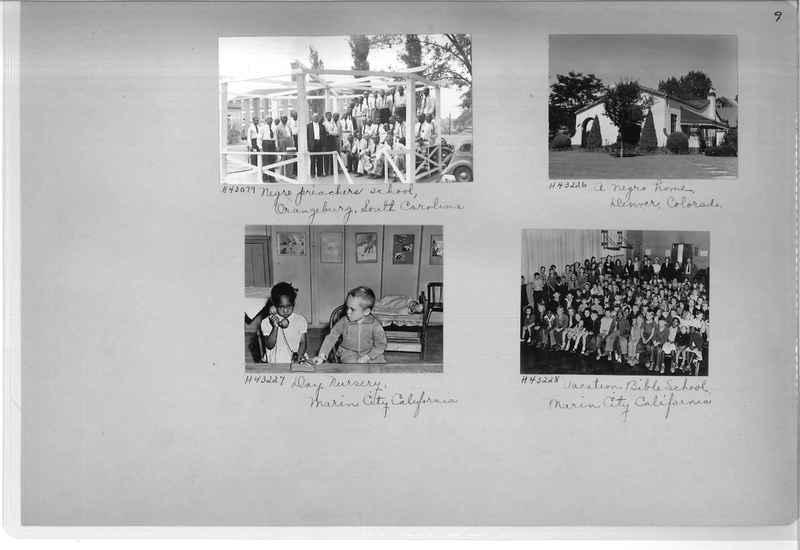 Mission Photograph Album - Negro #7 page 0009