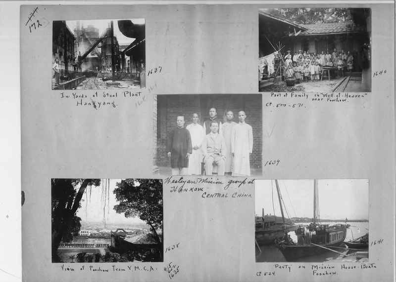 Mission Photograph Album - China #1 page  0172