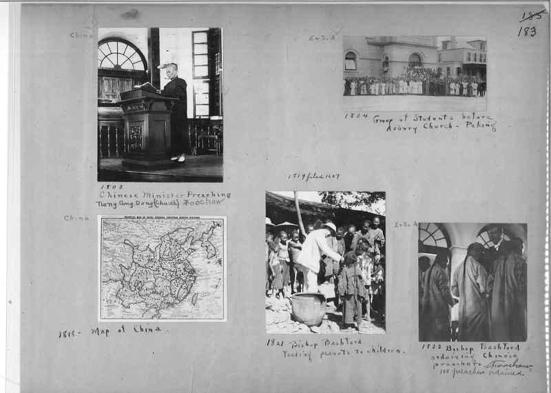 Mission Photograph Album - China #1 page  0183