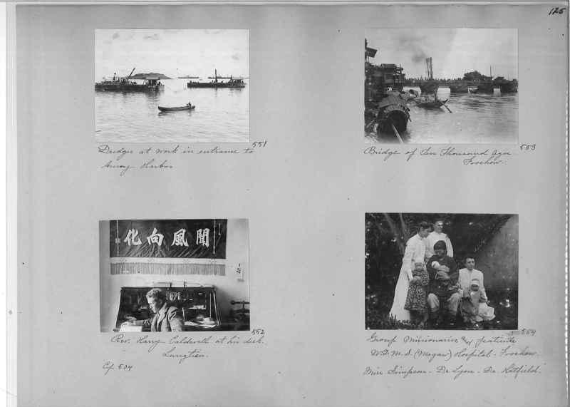Mission Photograph Album - China #1 page  0125