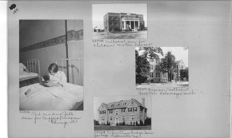 Mission Photograph Album - Hospitals and Homes #3 page 0194