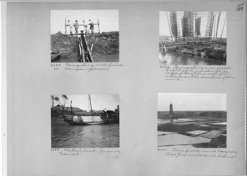 Mission Photograph Album - China #1 page  0199