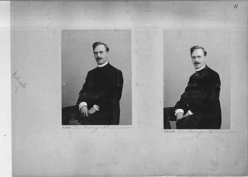 Mission Photograph Album - Portraits #3 page 0011